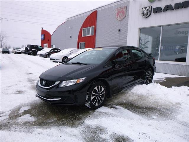2015 Honda Civic EX (Stk: MU873) in Mont-Laurier - Image 1 of 12