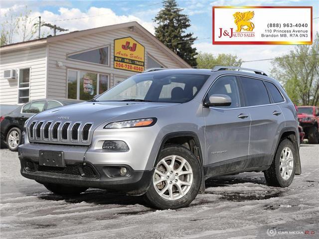 2014 Jeep Cherokee North (Stk: J2025) in Brandon - Image 1 of 27