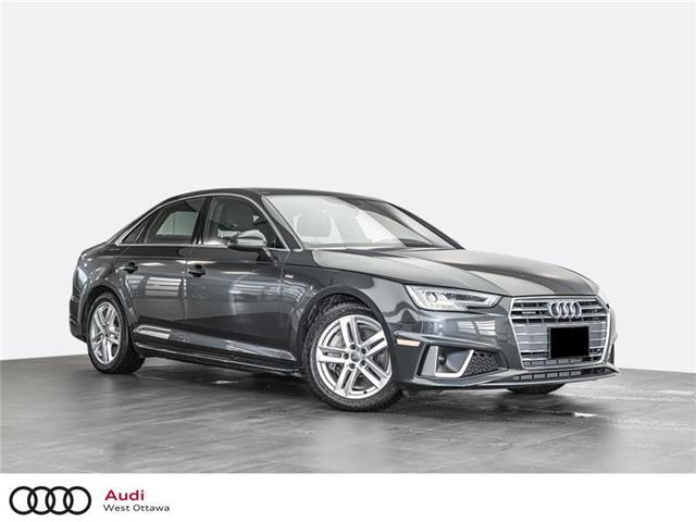 2019 Audi A4 45 Progressiv (Stk: 91594) in Nepean - Image 1 of 20