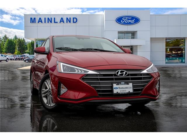 2020 Hyundai Elantra Preferred w/Sun & Safety Package (Stk: P9520) in Vancouver - Image 1 of 25