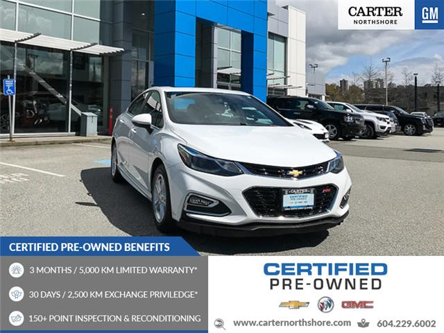 2016 Chevrolet Cruze LT Auto (Stk: 972110) in North Vancouver - Image 1 of 27