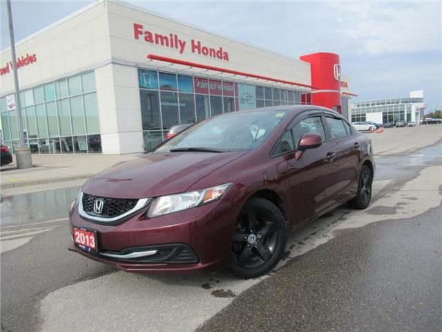 2013 Honda Civic 4dr Auto EX | SUNROOF | SOLD PENDING ! (Stk: 032664T) in Brampton - Image 1 of 24