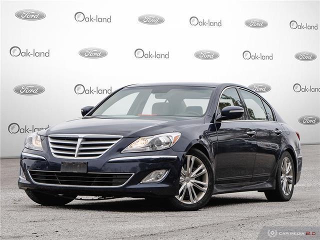 2013 Hyundai Genesis 3.8 Premium (Stk: A3163A) in Oakville - Image 1 of 24