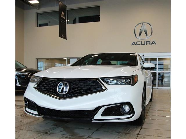 2020 Acura TLX Elite A-Spec w/Red Leather (Stk: 20TL1492) in Red Deer - Image 1 of 14