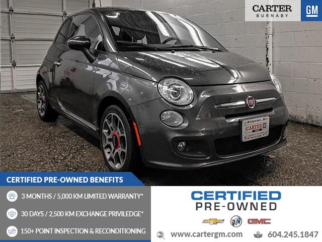 2015 Fiat 500 Sport (Stk: 49-10181) in Burnaby - Image 1 of 21