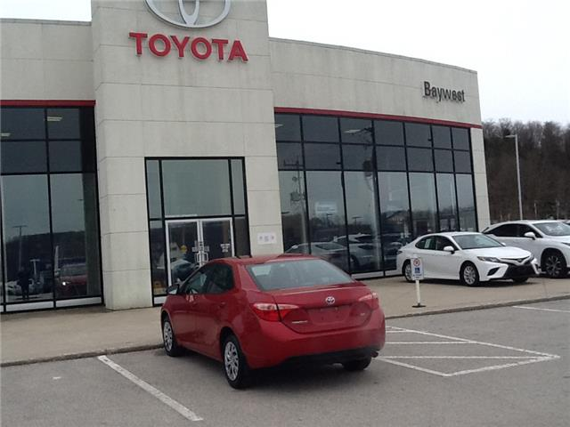 2017 Toyota Corolla LE (Stk: p20010) in Owen Sound - Image 1 of 9