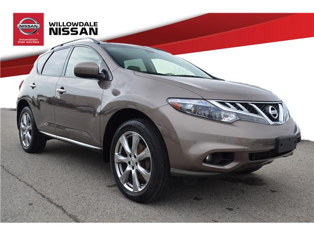 2014 Nissan Murano Platinum (Stk: H9175A) in Thornhill - Image 1 of 28