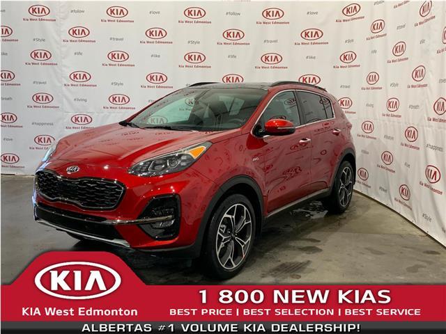 2020 Kia Sportage SX (Stk: 22254) in Edmonton - Image 1 of 35