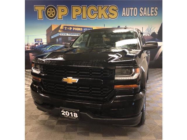 2018 Chevrolet Silverado 1500 Silverado Custom (Stk: 572239) in NORTH BAY - Image 1 of 26