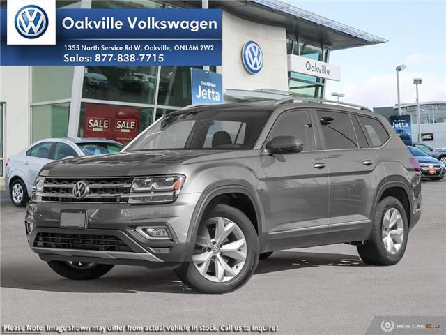 2019 Volkswagen Atlas 3.6 FSI Highline (Stk: 21840) in Oakville - Image 1 of 23