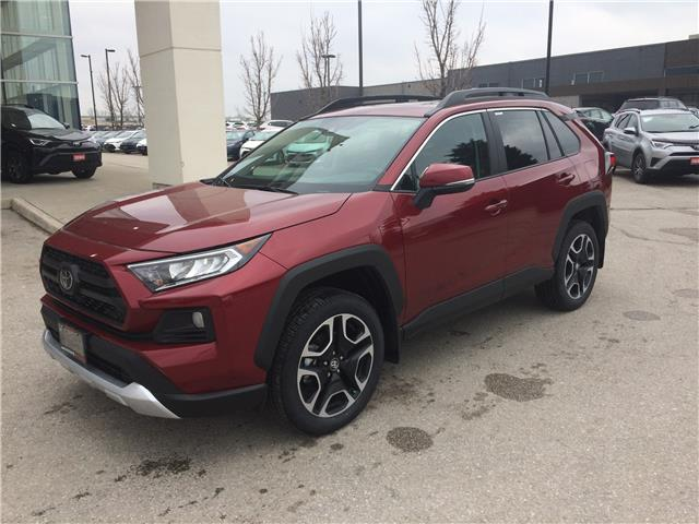 2020 Toyota RAV4 Trail (Stk: 447) in Barrie - Image 1 of 14