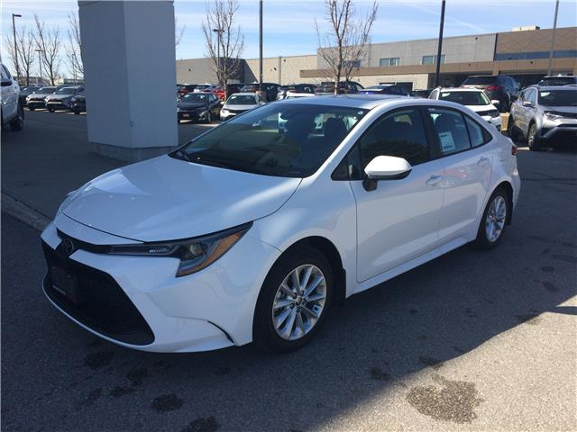 2020 Toyota Corolla LE (Stk: 8018) in Barrie - Image 1 of 15