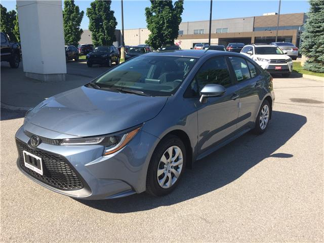 2020 Toyota Corolla LE (Stk: 9479) in Barrie - Image 1 of 12