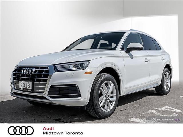 2018 Audi Q5 2.0T Komfort (Stk: P7787) in Toronto - Image 1 of 25