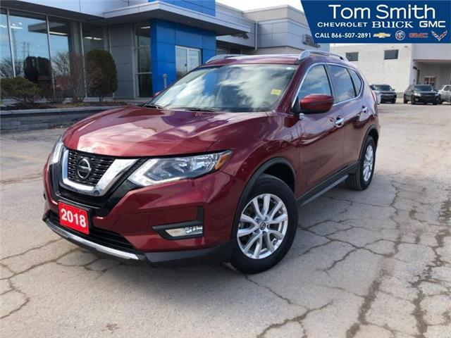 2018 Nissan Rogue SV (Stk: 98384R) in Midland - Image 1 of 21