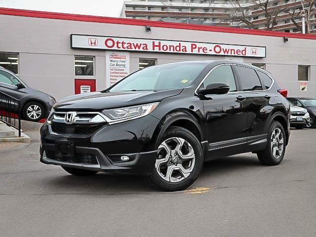 2017 Honda CR-V EX (Stk: H81710) in Ottawa - Image 1 of 27