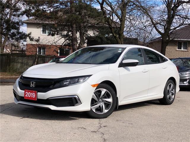 2019 Honda Civic Sedan LX CVT |BLUETOOTH| HEATED SEATS |BACKUP CAM (Stk: 5634) in Stoney Creek - Image 1 of 18
