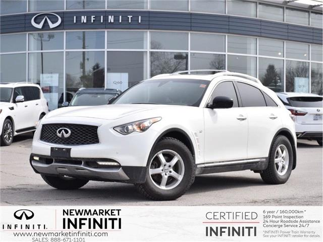 2017 Infiniti QX70 Base (Stk: UI1305) in Newmarket - Image 1 of 15