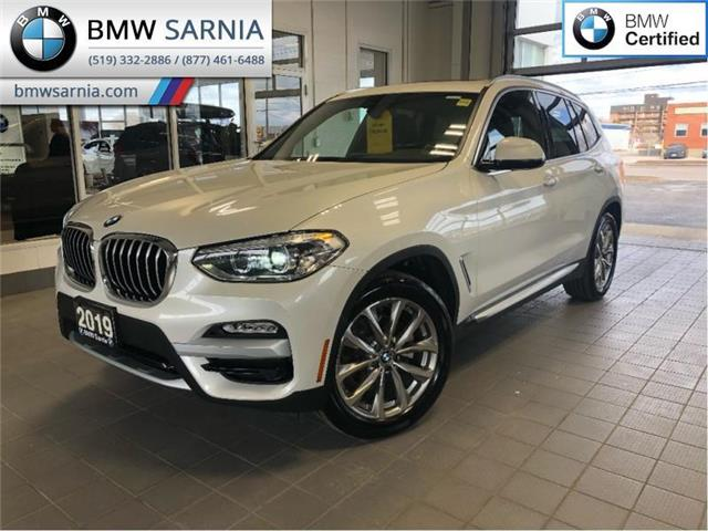 2019 BMW X3 xDrive 30i Sports Activity Vehicle (Stk: XU272) in Sarnia - Image 1 of 20