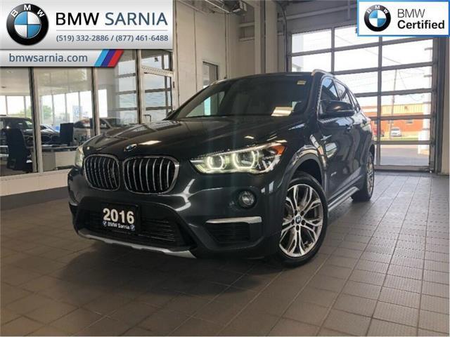 2016 BMW X1 xDrive28i (Stk: XU242) in Sarnia - Image 1 of 17