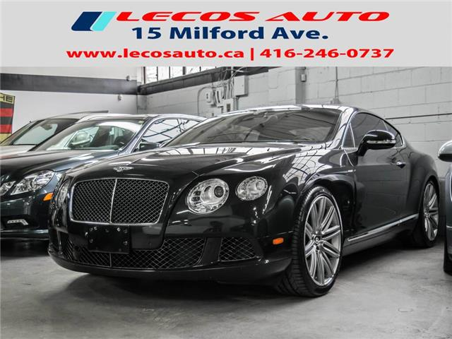2013 Bentley Continental GT Speed  (Stk: 083535) in Toronto - Image 1 of 1