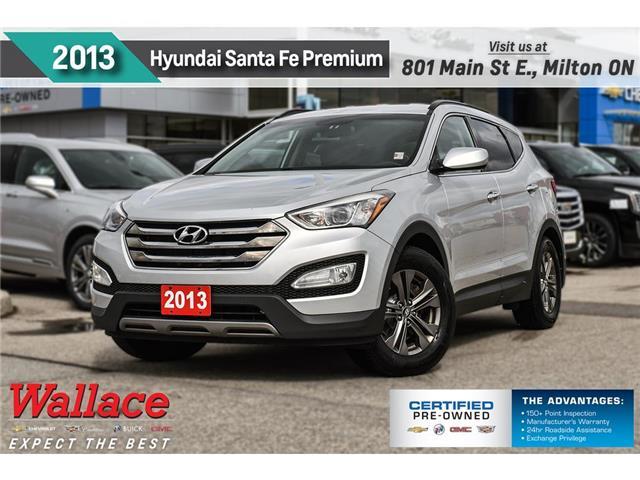 2013 Hyundai Santa Fe 2.0T   PREMUM   HEATED SEATS   ALLOY WHEELS   FWD (Stk: 679566A) in Milton - Image 1 of 28