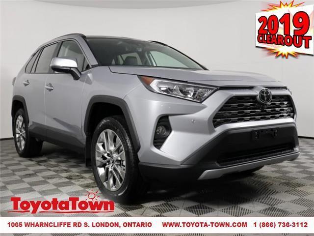 2019 Toyota RAV4 Limited (Stk: D0504) in London - Image 1 of 27