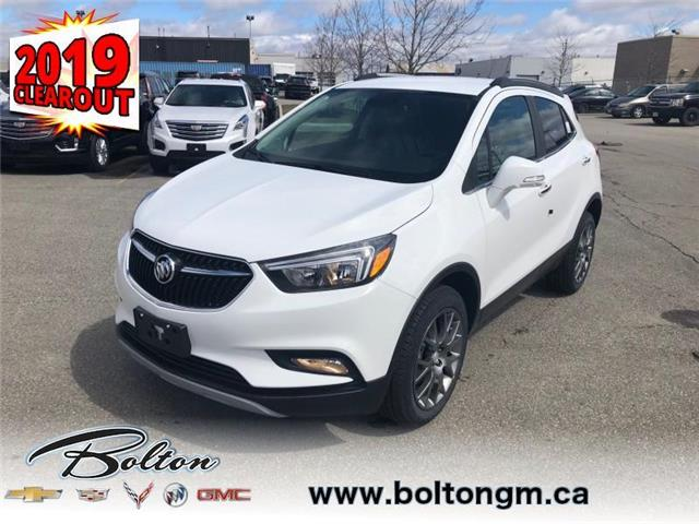 2019 Buick Encore Sport Touring (Stk: 785612) in Bolton - Image 1 of 10