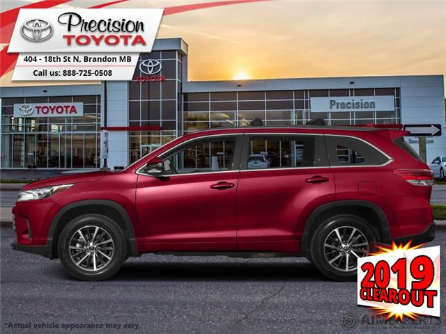 2019 Toyota Highlander XLE AWD Nightshade Package (Stk: 19190) in Brandon - Image 1 of 1