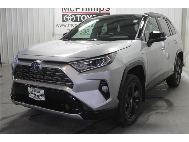 2020 Toyota RAV4 Hybrid XLE (Stk: W081366) in Winnipeg - Image 1 of 23