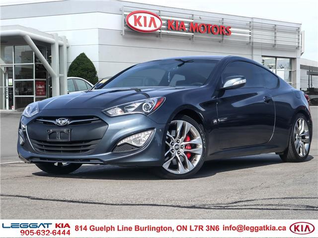 2013 Hyundai Genesis Coupe 3.8 GT (Stk: 2A6076A) in Burlington - Image 1 of 30