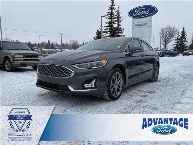 2019 Ford Fusion Hybrid Titanium (Stk: 5618) in Calgary - Image 1 of 26