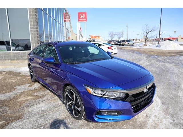 2020 Honda Accord Sport 1.5T (Stk: 20-069) in Grande Prairie - Image 1 of 25