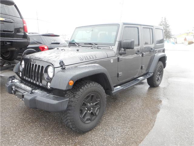 2018 Jeep Wrangler JK Unlimited Sahara (Stk: NC 3868) in Cameron - Image 1 of 9