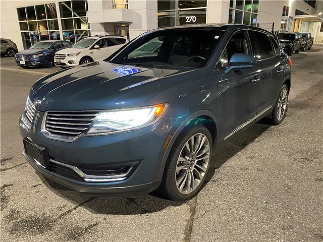 2016 Lincoln MKX Reserve 2LMPJ8LP9GBL39058 OP2086 in Vancouver