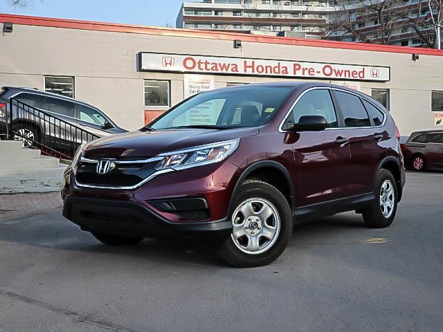 2016 Honda CR-V LX (Stk: H81890) in Ottawa - Image 1 of 27