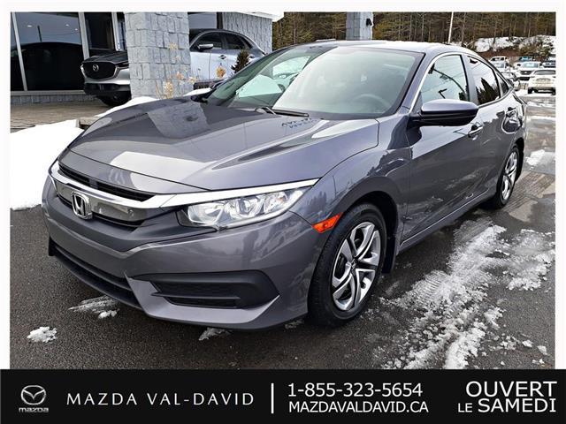 2016 Honda Civic LX (Stk: B1768) in Val-David - Image 1 of 20