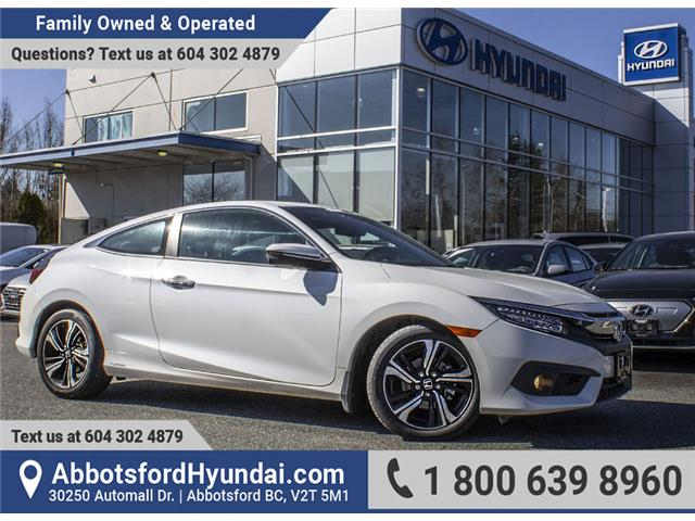 2018 Honda Civic Touring (Stk: AH9043) in Abbotsford - Image 1 of 28