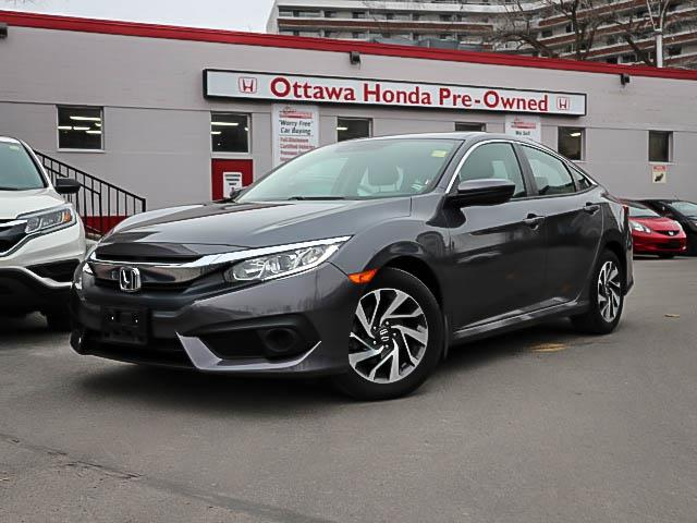 2018 Honda Civic SE (Stk: H81940) in Ottawa - Image 1 of 27