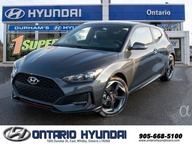 2020 Hyundai Veloster Turbo w/Sandstorm Leather (Stk: 025968) in Whitby - Image 1 of 21