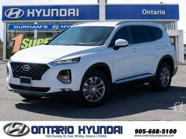 2020 Hyundai Santa Fe Preferred 2.4 w/Sun & Leather Package (Stk: 160911) in Whitby - Image 1 of 22