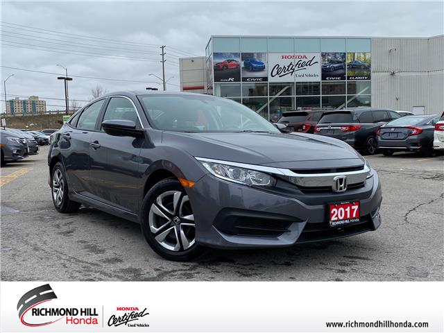 2017 Honda Civic LX (Stk: 202120P) in Richmond Hill - Image 1 of 18