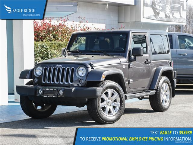2016 Jeep Wrangler Sahara (Stk: 160211) in Coquitlam - Image 1 of 13