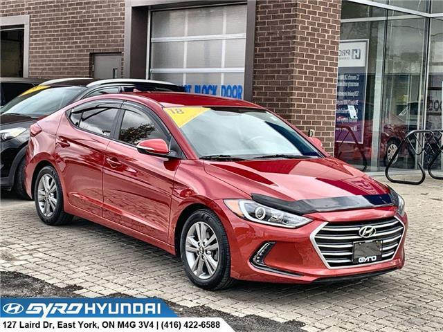 2018 Hyundai Elantra GL (Stk: H5608A) in Toronto - Image 1 of 28