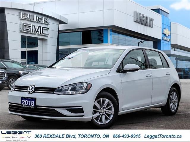 2018 Volkswagen Golf  (Stk: T11729) in Etobicoke - Image 1 of 27