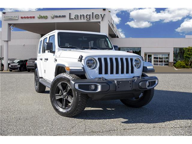 2018 Jeep Wrangler Unlimited Sahara (Stk: K585470A) in Surrey - Image 1 of 22