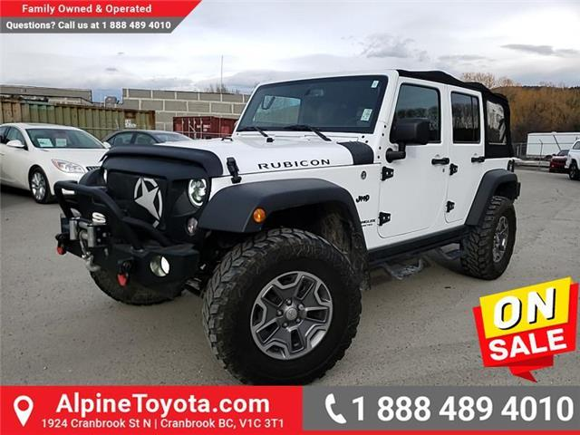 2017 Jeep Wrangler Unlimited Rubicon (Stk: X881285B) in Cranbrook - Image 1 of 25