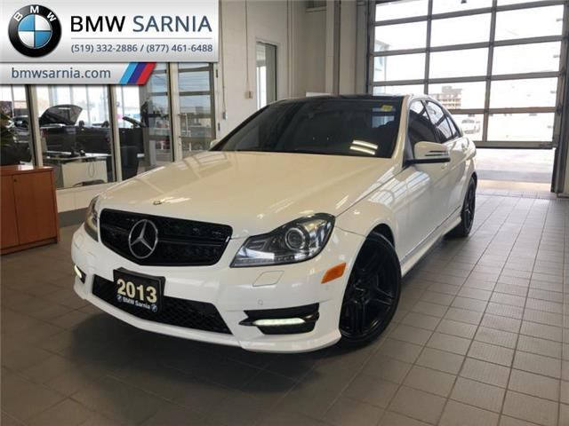 2013 Mercedes-Benz C-Class C 350 4MATIC (Stk: SFC2797) in Sarnia - Image 1 of 16