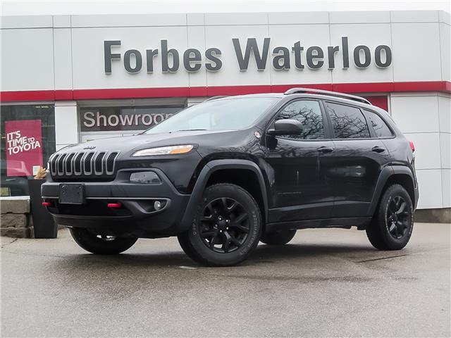 Used 2016 Jeep Cherokee Trailhawk  - Waterloo - Forbes Waterloo Toyota
