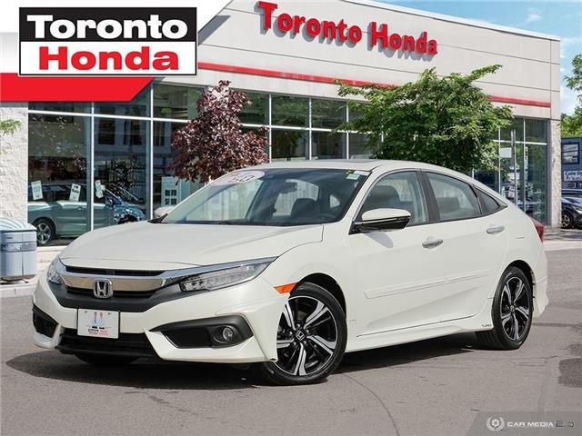 2016 Honda Civic Sedan Touring (Stk: H40080A) in Toronto - Image 1 of 28
